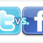 Twitter v. Facebook