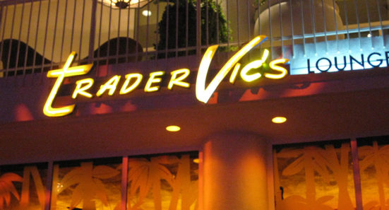 Goodbye, Trader Vic's