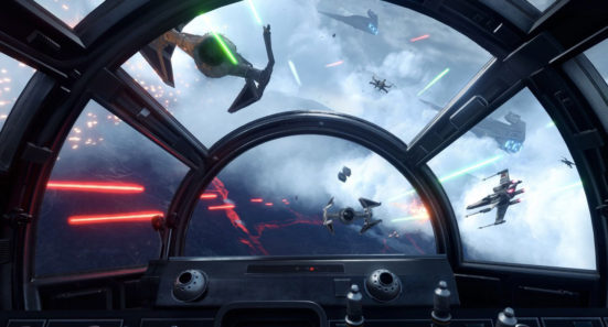 X-Wing Cockpit View