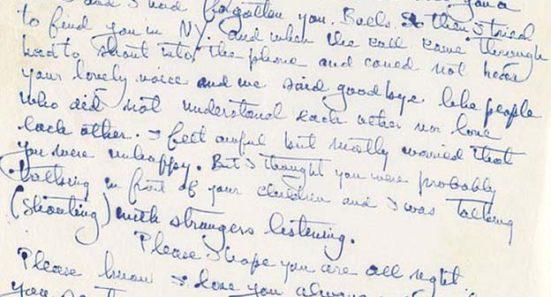 Hemingway Letter