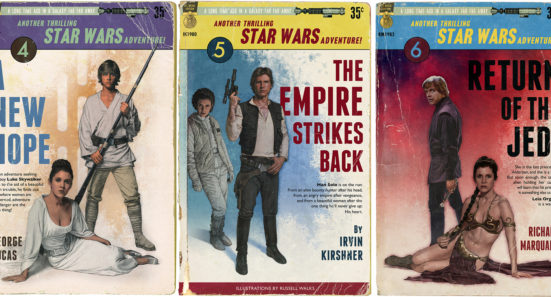Star Wars pulp novels